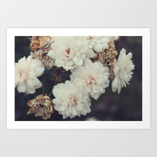 Flowery Bundle Art Print