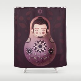 Katya doll Shower Curtain