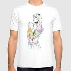 Phoenix Mens Fitted Tee White MEDIUM