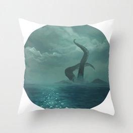 H A I L Throw Pillow