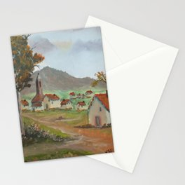 Little lost town Stationery Cards
