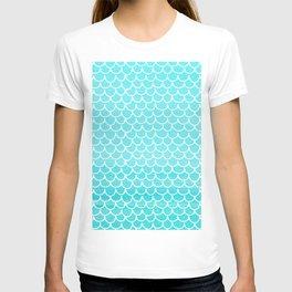 Let´s be mermaids- Aqua Mermaidscales - into the Sea T-shirt