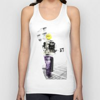 manchester Tank Tops featuring Manchester Street FASHION by Anca Pora