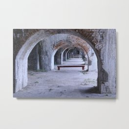 Endless Archs Metal Print