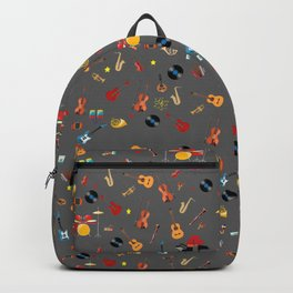 Music is my life Backpack