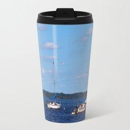 Summer On The Lake Travel Mug