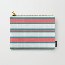 Watermelon Stripes Carry-All Pouch