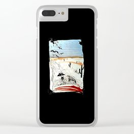 Fear And Loathing Clear iPhone Case