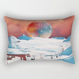 strawberry whipped cream Rectangular Pillow