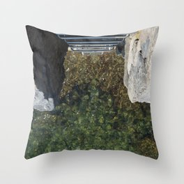 San Sebastian, Spain - Jump In Throw Pillow