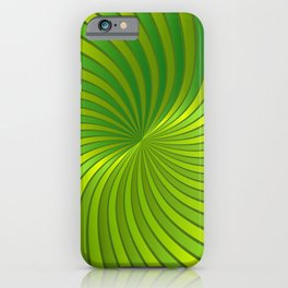Spiral Vortex G319 iPhone Case
