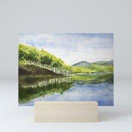 Tuyen Lam Lake in Da Lat Mini Art Print