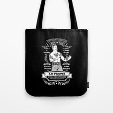 Vintage Boxing - Black Edition Tote Bag