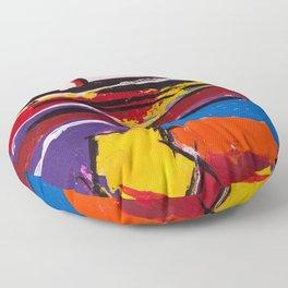 Birth Scene Floor Pillow