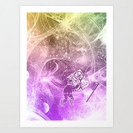 The Quantum Mechanic Art Print