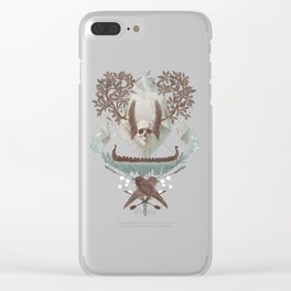 Ghosts of Scandinavia. Iceland. Clear iPhone Case