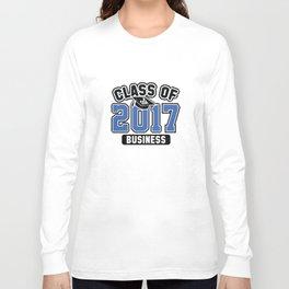 Class Of 2017 Business Long Sleeve T-shirt