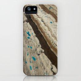 ALASKA III: Ruth Glacier Textures iPhone Case