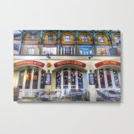 The Punch And Judy Pub Covent Garden Metal Print