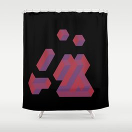 Boredom Shower Curtain