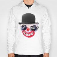 clown Hoodies featuring Clown by Ahmet Hacıoğlu