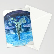 FOREVER - night Stationery Cards