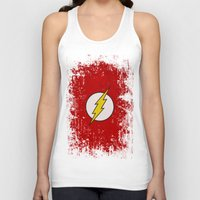 flash Tank Tops featuring Flash by Some_Designs
