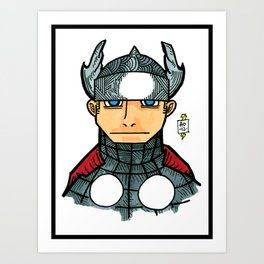 thorrific Art Print