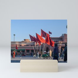 Pride of Jemaa el-Fna (Marrakech) Mini Art Print