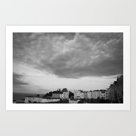 and the sky screamed. Art Print
