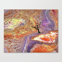 Somewhere in the Luminous Stigmata Canvas Print