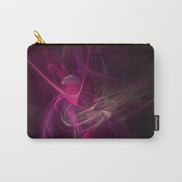 Pink swirl Carry-All Pouch