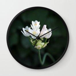 Tiny Little Flower Wall Clock