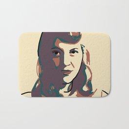Sylvia Plath Bath Mat