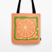coasters Tote Bags featuring GRAPEFRUIT by Tanya Pligina