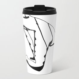 Back Metal Travel Mug