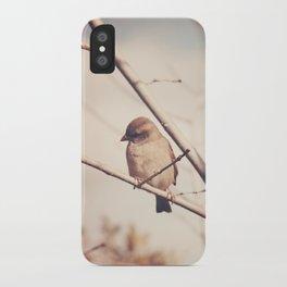 Little Sparrow iPhone Case