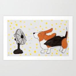 Flying Ears Art Print