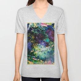 Malachite Cosmos Unisex V-Neck