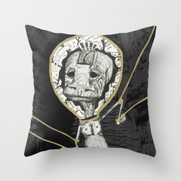Puppets Throw Pillow