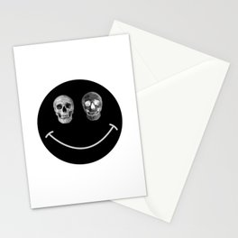 Just keep smiling Stationery Cards