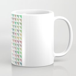 edge of autumn geometric pattern Coffee Mug