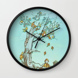 I Hear Music in Everything Wall Clock