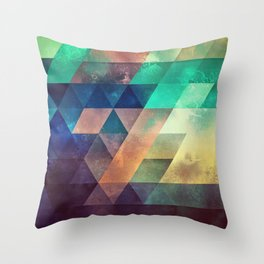 lytr vyk ryv Throw Pillow