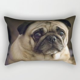 A Pug Called Pig Rectangular Pillow