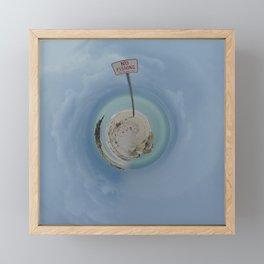 MIAMI Framed Mini Art Print