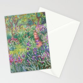 Claude Monet - The Artist's Garden in Giverny Stationery Cards