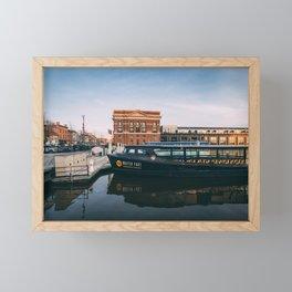 Water Taxi, Fells Point Framed Mini Art Print