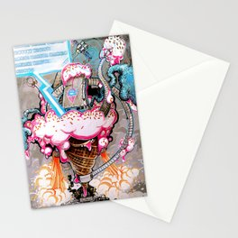 """Eiscreme 2099"" Stationery Cards"