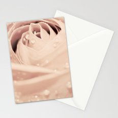 Drops on Rose Stationery Cards